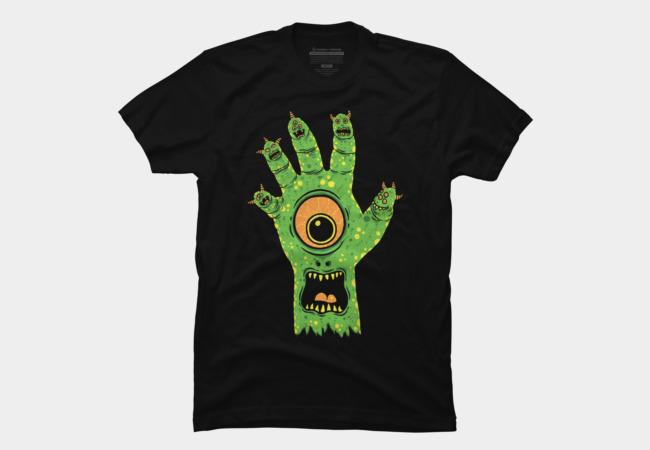 Finger Monster Men's T-Shirt