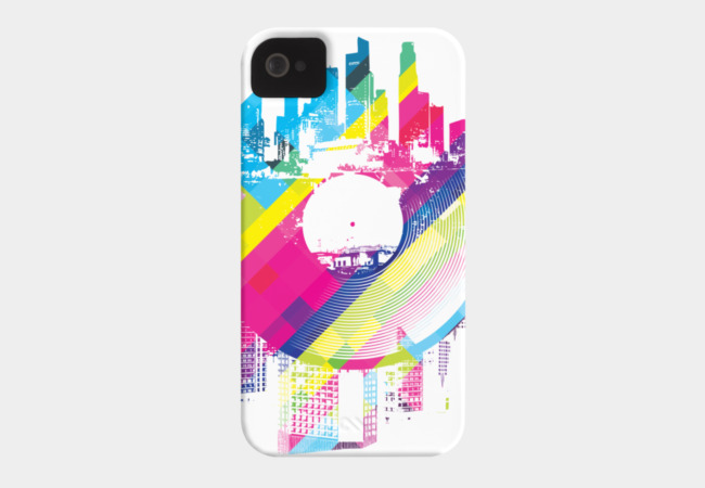Urban Vinyl Phone Case - Design By Humans