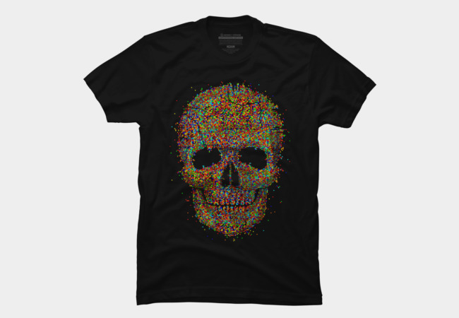 Acid Skull Men's T-Shirt