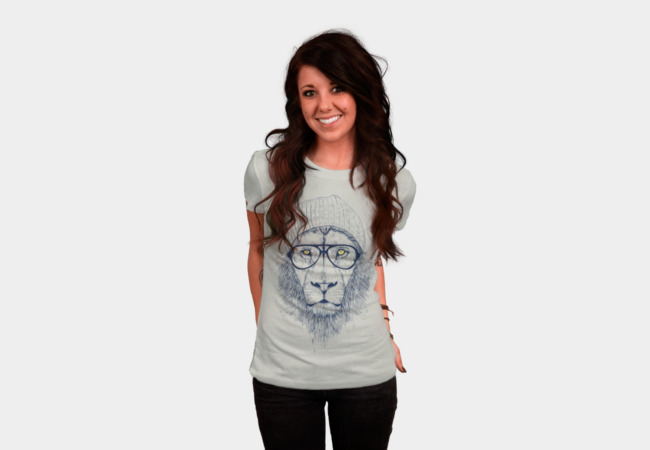 Cool lion T-Shirt - Design By Humans