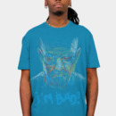 DesignLawrence wearing i'm bad blue meth version by kharmazero