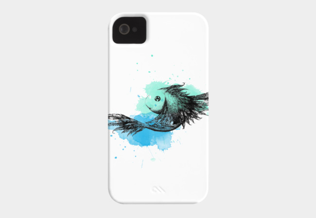 FloatingFish Phone Case - Design By Humans
