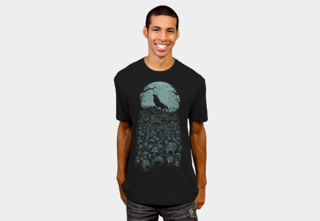 Midnight Hunter T-Shirt - Design By Humans