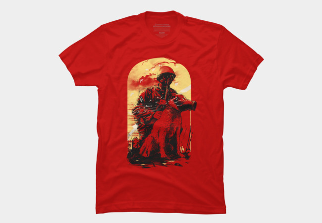 Dogs  Of War Men's T-Shirt