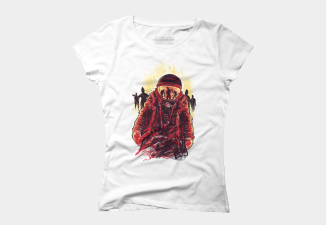Space Zombies Women's T-Shirt