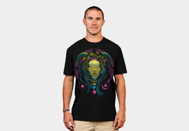 Neon Voodoo T-Shirt - Design By Humans