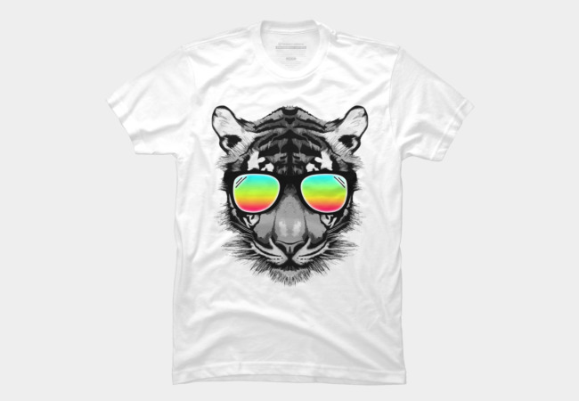 Retro Tiger Men's T-Shirt