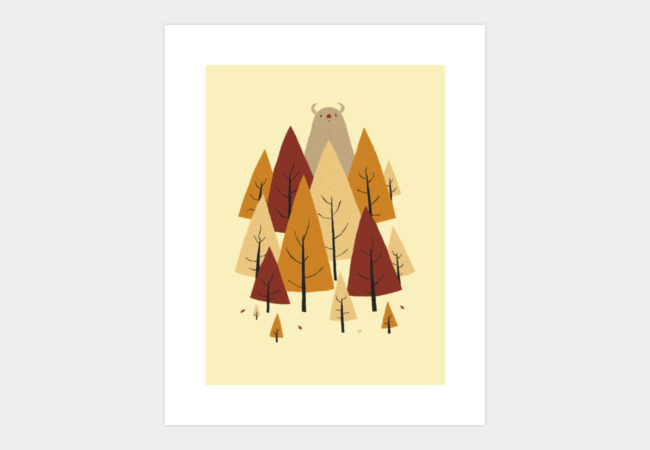 monster Art Print - Design By Humans