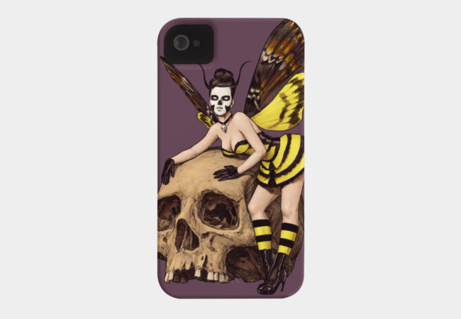 Lady Hawk-Moth Phone Case - Design By Humans