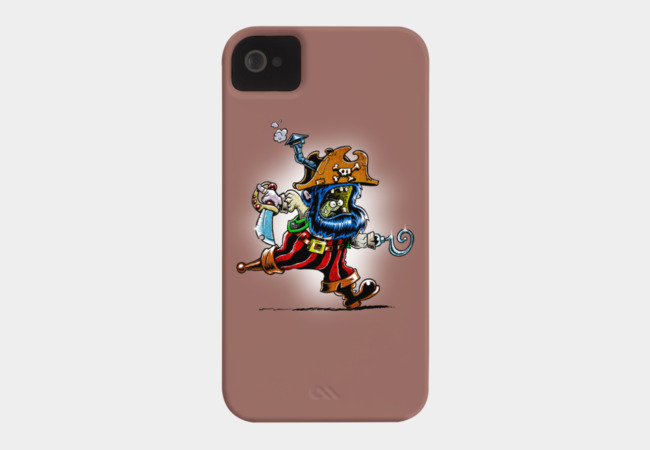 Steam powered pirate Phone Case - Design By Humans