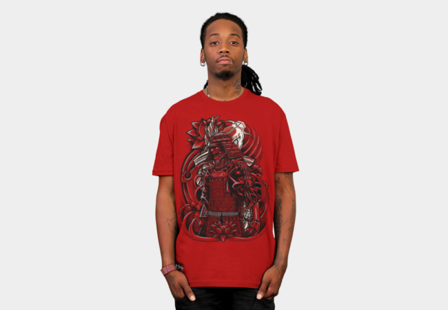 Samurai Koi T-Shirt - Design By Humans