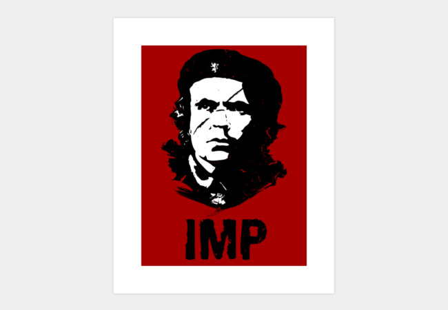 Vive La Imp Art Print - Design By Humans
