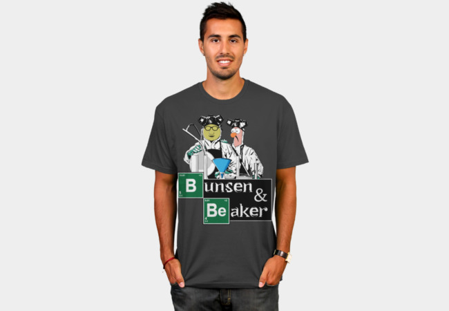 Bunsen & Beaker T-Shirt - Design By Humans