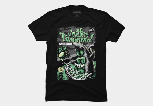 Yummy Tentacle Cereals Men's T-Shirt