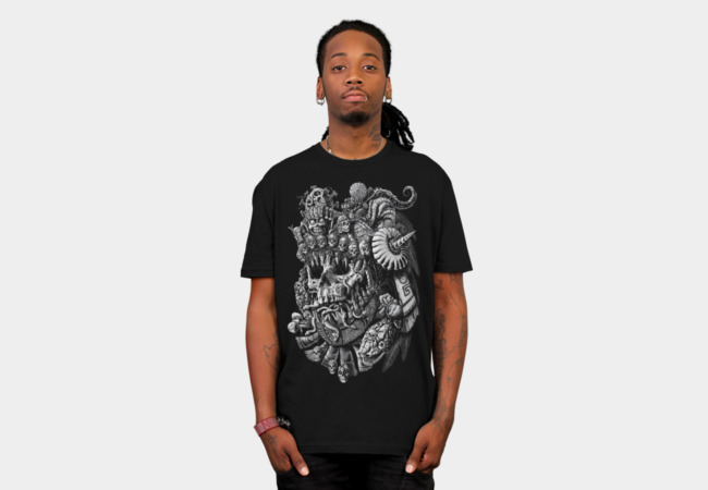 Aztec Skull King T-Shirt - Design By Humans