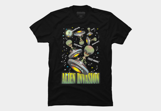 Alien Invasion Men's T-Shirt