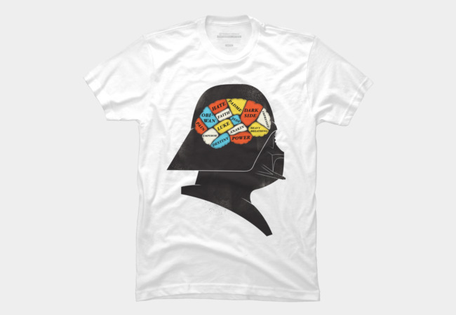 Darth Phrenology Men's T-Shirt