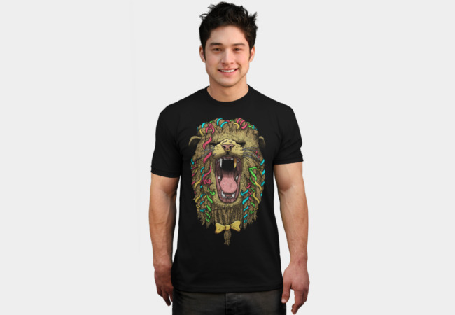 The Not So Cowardly Lion T-Shirt - Design By Humans