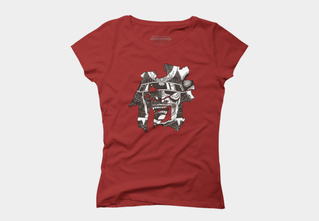 Samurai Mask Women's T-Shirt