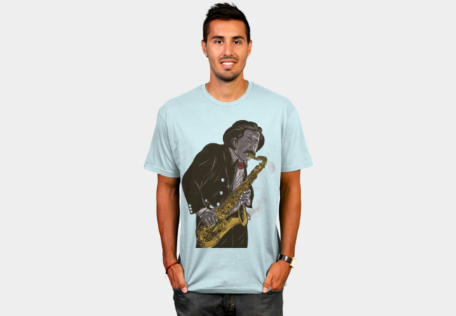 Jazzy Einstein T-Shirt - Design By Humans