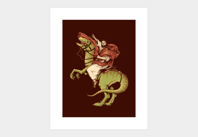 Raptored Art Print - Design By Humans