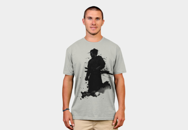 Samurai T-Shirt - Design By Humans