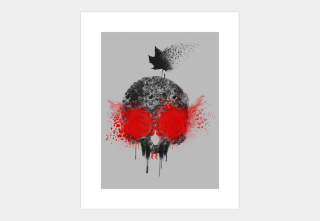 Gone Art Print - Design By Humans