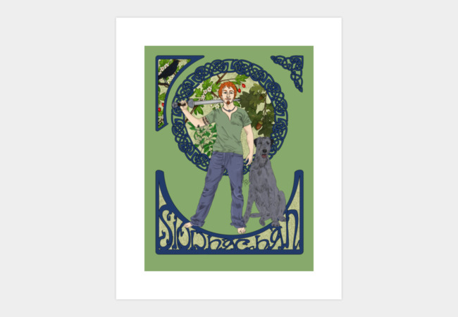 Siodachan Art Print - Design By Humans