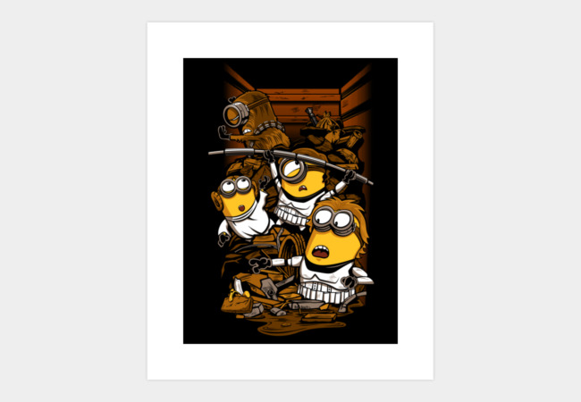 Despicable Rebels Art Print - Design By Humans