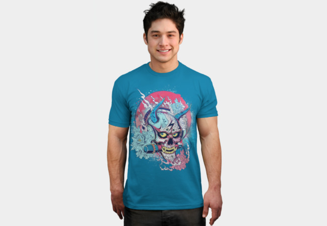 Rock and Roll - Hannya T-Shirt - Design By Humans