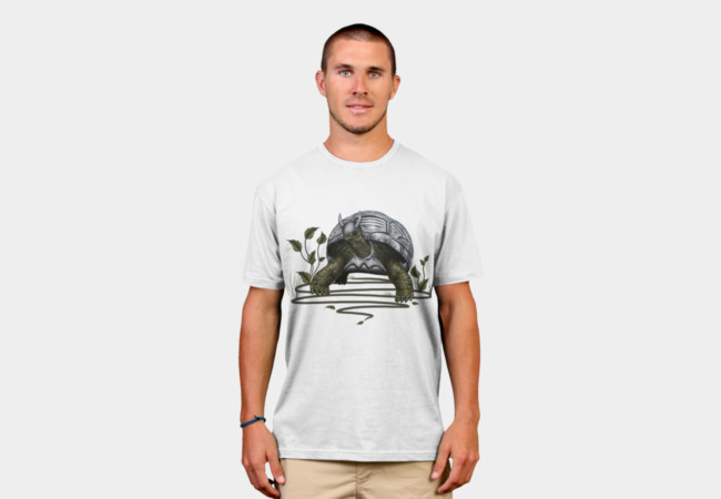 Old turtle warrior T-Shirt - Design By Humans