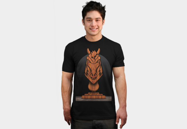 Welcome to 2014! Year of the Wooden Horse! T-Shirt - Design By Humans