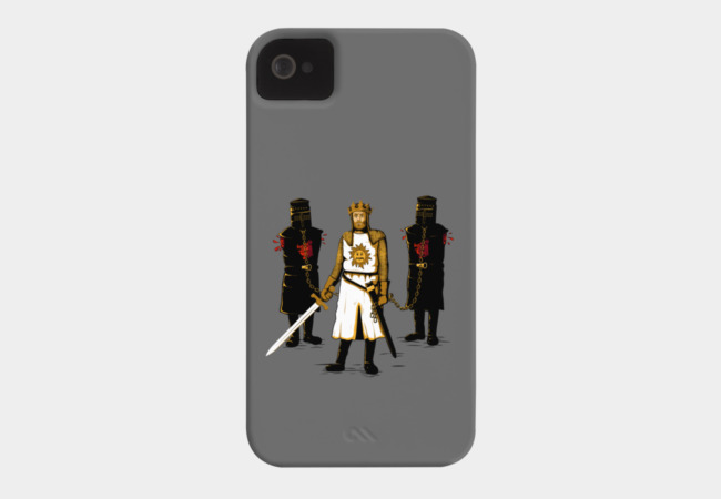 Walking Monty Phone Case - Design By Humans