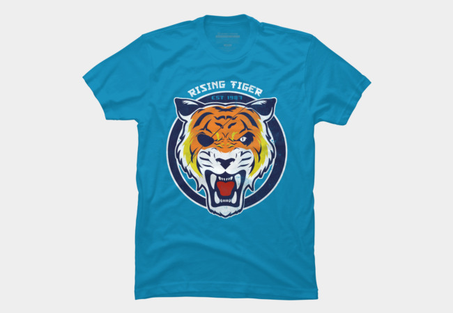 Rising Tiger Men's T-Shirt