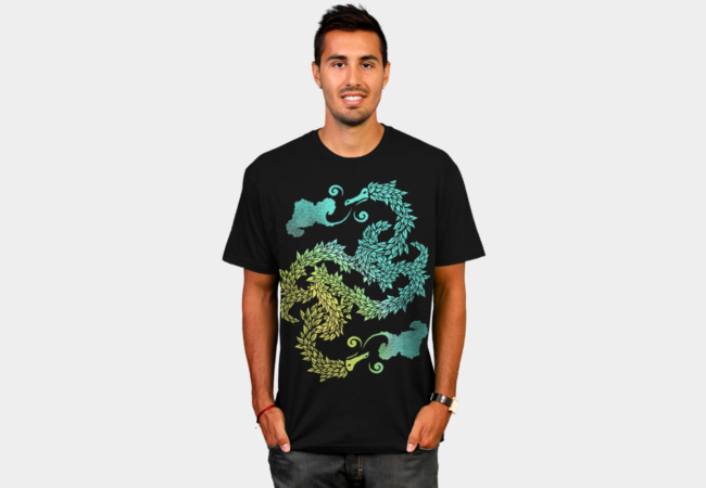 Dragons Blow T-Shirt - Design By Humans