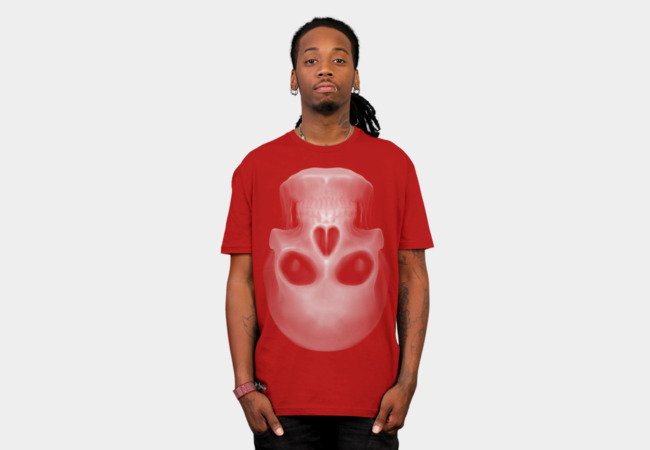 Heart of Skull T-Shirt - Design By Humans