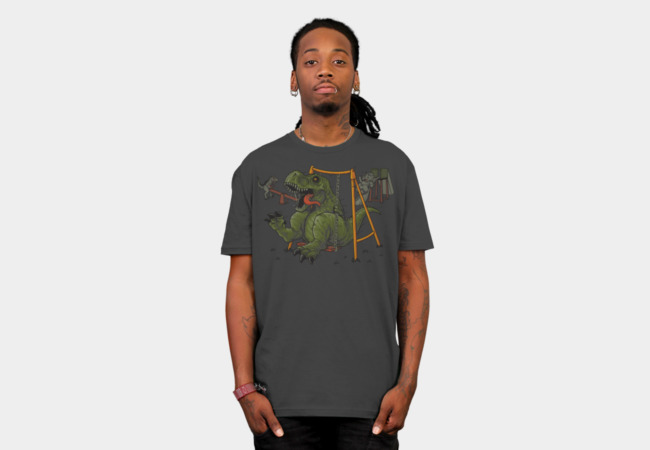 Dino Park T-Shirt - Design By Humans