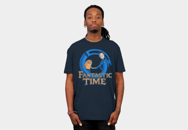 Fantastic Time T-Shirt - Design By Humans