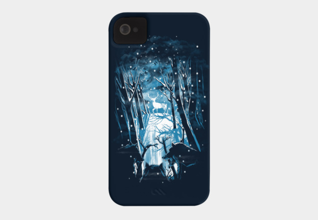 Wolf's Winter Phone Case - Design By Humans