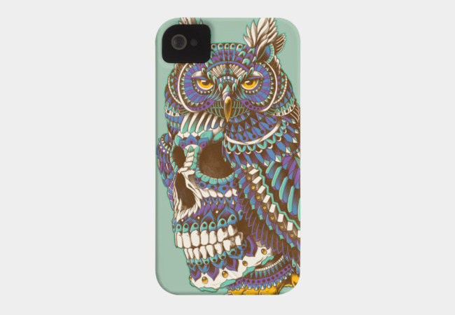 Great Horned Skull Phone Case - Design By Humans