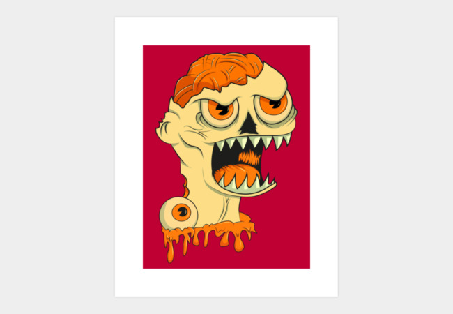 Zomb!es Art Print - Design By Humans
