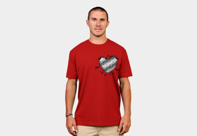 Heart of Steel T-Shirt - Design By Humans