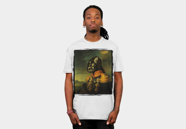 Portrait of Lord Vader T-Shirt - Design By Humans