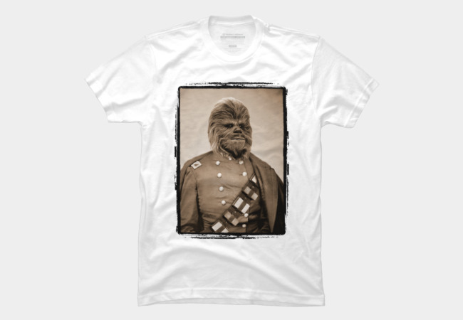 Portrait of Sir Chewie Men's T-Shirt