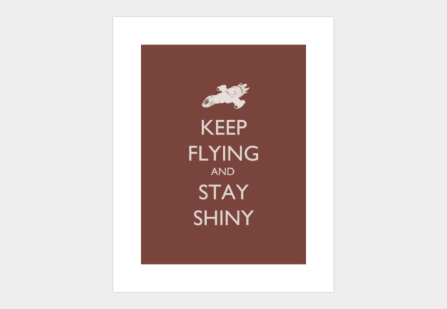 Stay Shiny Art Print - Design By Humans