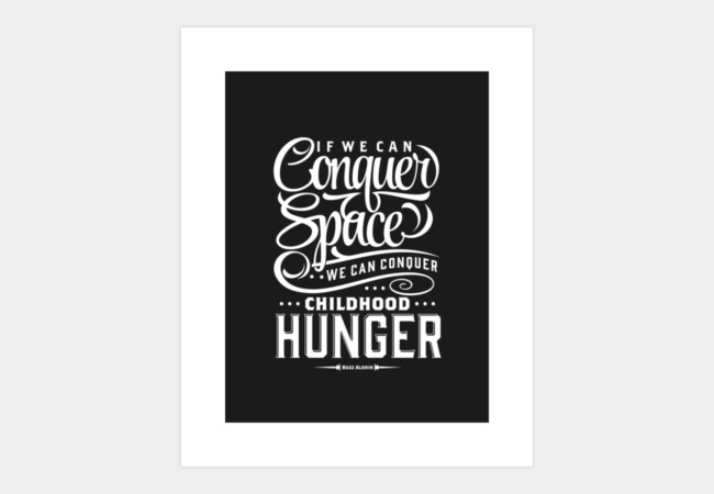 Conquer The Space Art Print - Design By Humans