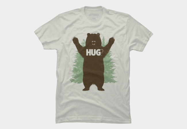 Bear Hug? Men's T-Shirt
