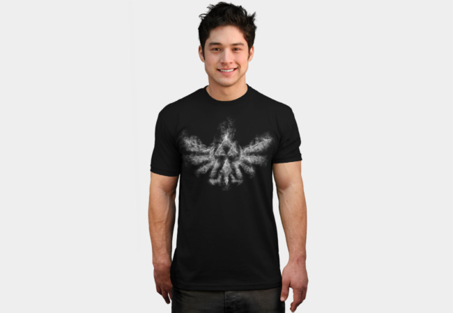 Triforce Smoke T-Shirt - Design By Humans