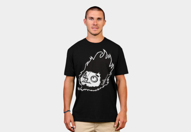 Monster Head wotto Tee T-Shirt - Design By Humans