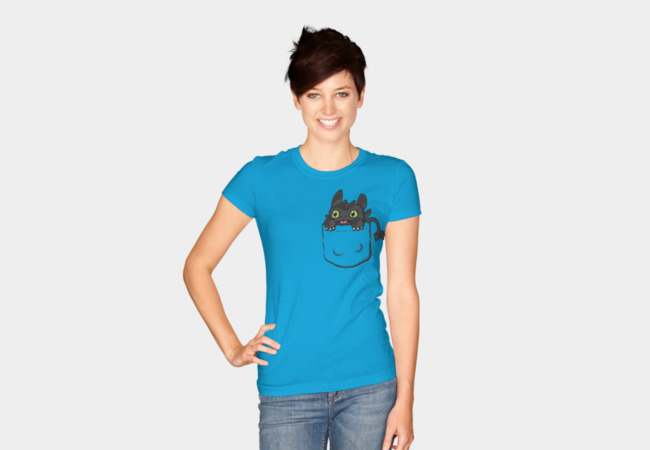 Pocket Toothless T-Shirt - Design By Humans